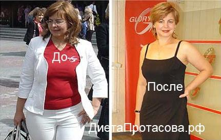 диета протасова и отзывы и результаты фото