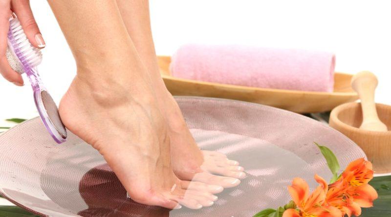 Советы для ухода за ступнями