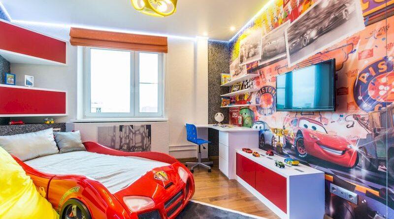 Дизайн детской комнаты для мальчиков