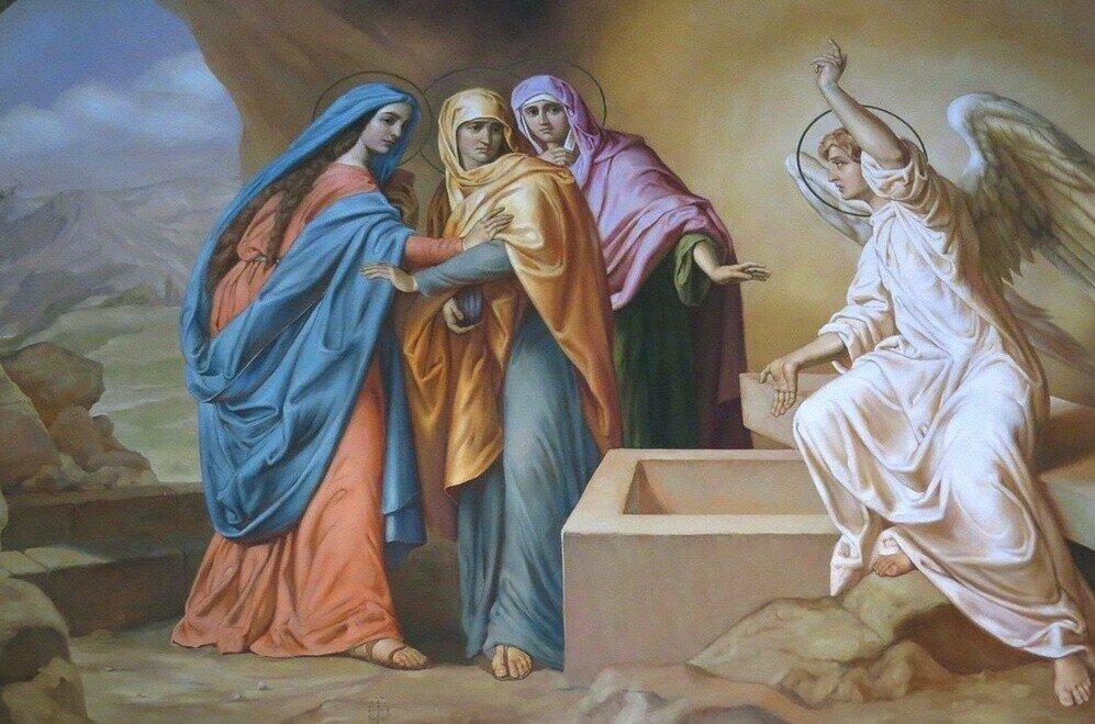 Кто такие жены-мироносицы?